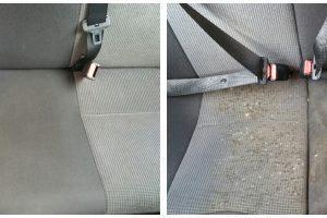 Car interior – restorative cleaning